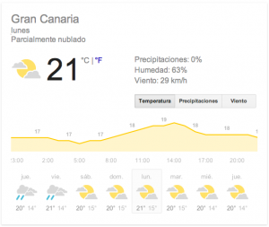 Clima Canarie