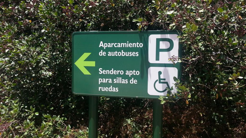 sentiero per disabili la gomera canarie