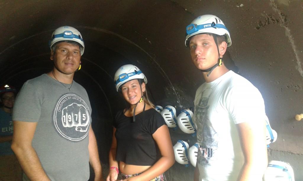tubo vulcanico el hierro