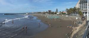 spiaggia di san Agustin