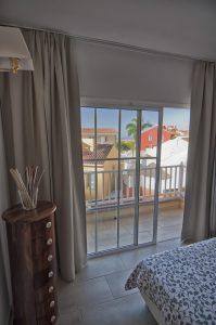 Camera letto vista mare